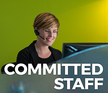 Commited staff